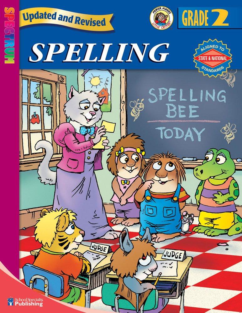 Download Spectrum Spelling, Grade 2 ebook