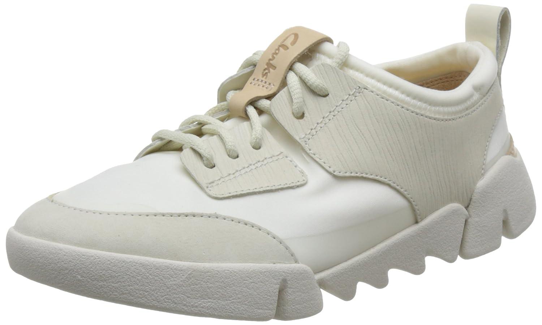 Zapatillas Deporte de Mujer Clarks 26133667 Tri Spirit White Combi 38 EU