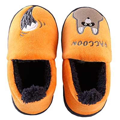 D.S.MOR Toddler Orange Gopher Velvet Kids Footwear Cute Kids Shoes