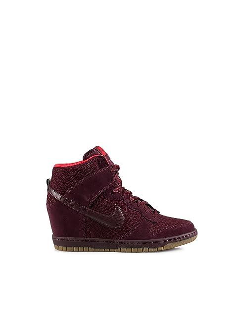 NikeWmns Dunk Sky Hi Essential - Zapatillas de Baloncesto Mujer, Morado (Granate), 36: Amazon.es: Zapatos y complementos