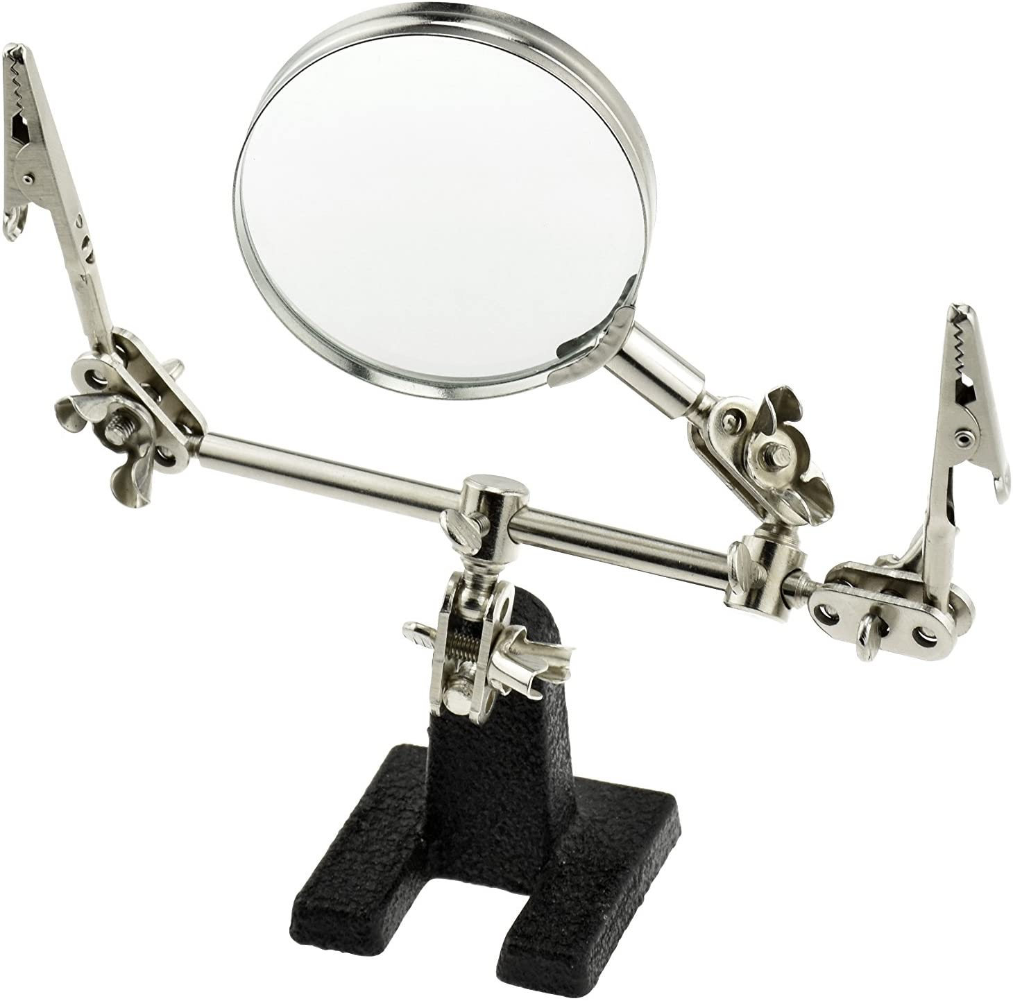 SE Helping Hand with Magnifying Glass - MZ101B