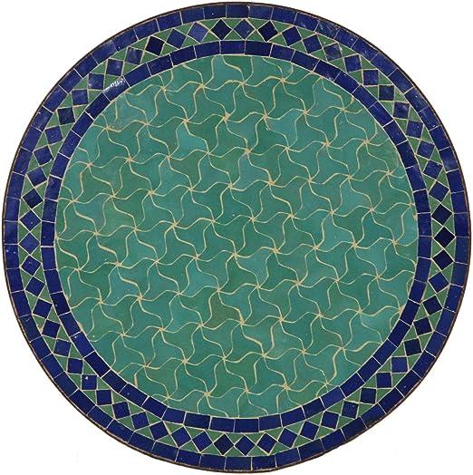 Table de jardin méditerranéenne   Mosaïque marocaine \
