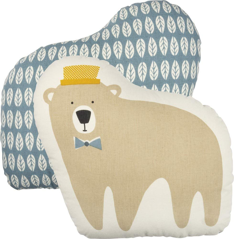 Primitives By Kathy Bear Shaped Pillow