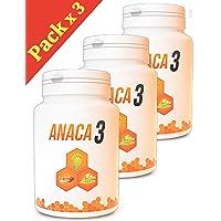 Anaca 3 - Anaca3 Perte de Poids - Gélules Minceur - Lot de 3 Boites de 90 Gélules