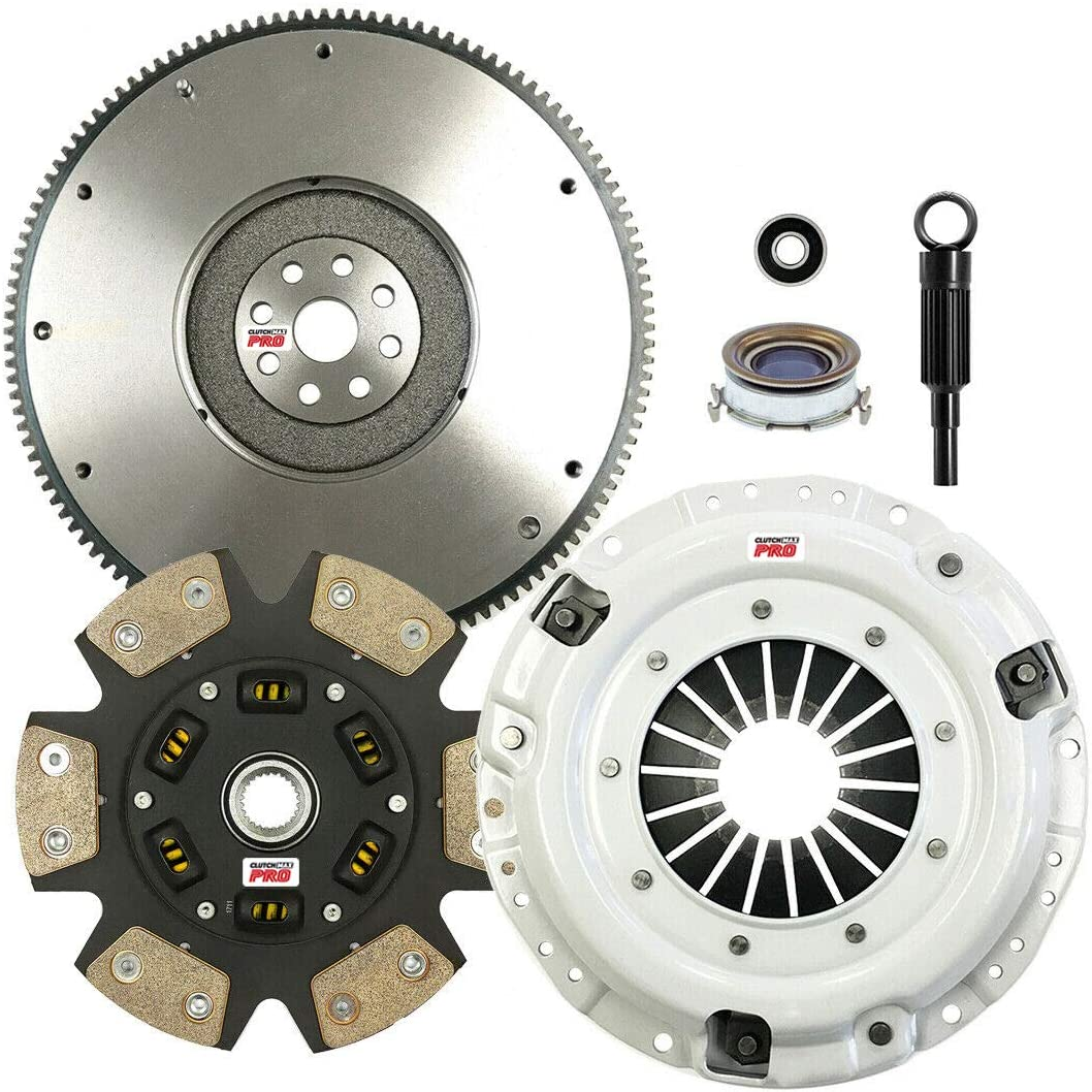 Outback 2.0L 2.5L Non-Turbo Forester ClutchMaxPRO Performance Stage 3 Clutch Kit /& Flywheel for Subaru Baja CP15004HDCFW-ST3 Legacy Impreza