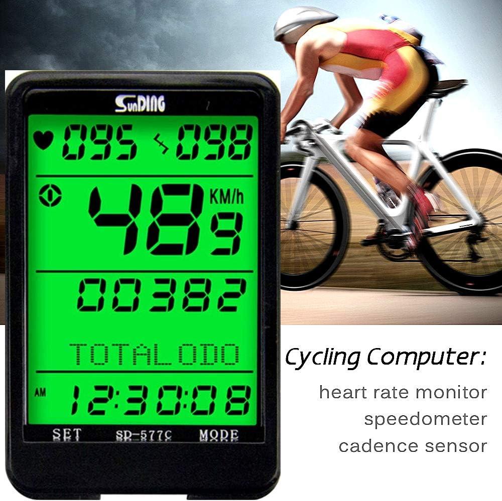 ARCELI SD 577C Velocímetro de Bicicleta Monitor de cadencia de ...