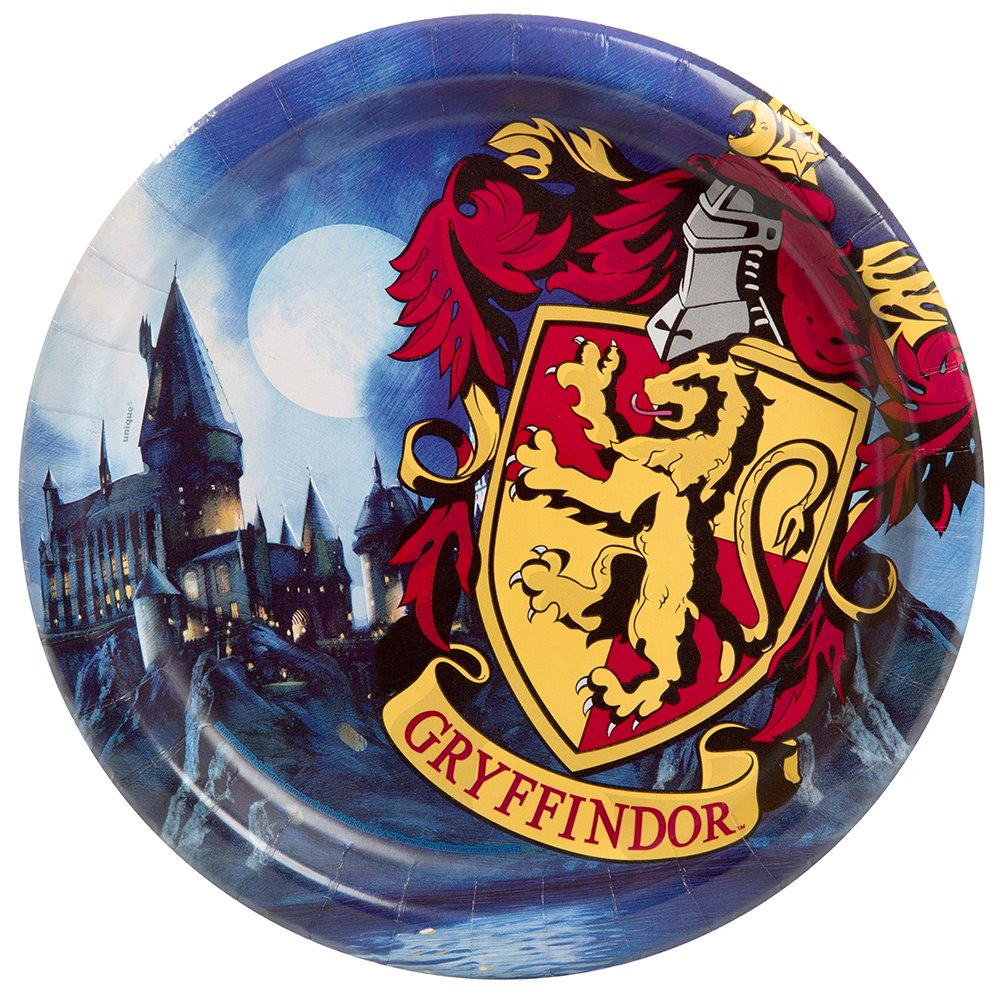Harry Potter Paper Party Plates, 8ct