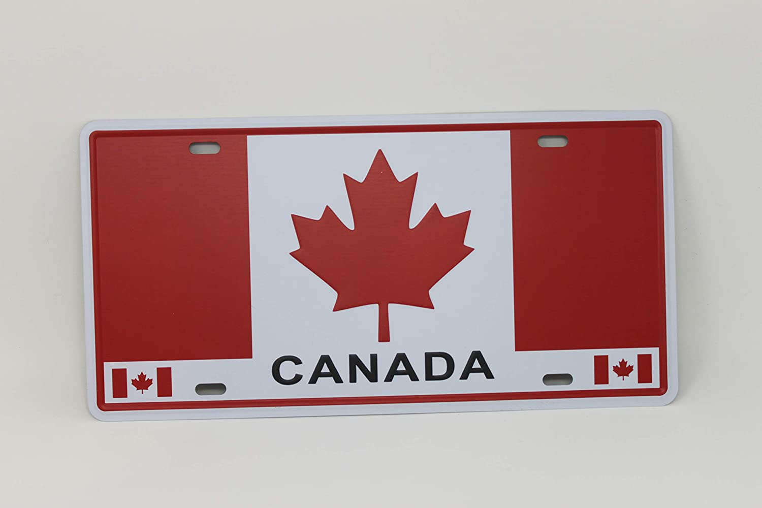 Canada Metal Licence Plate 12 by 6