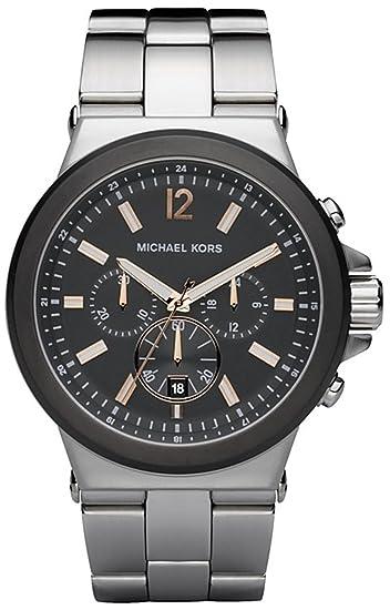 With Silver Michael Mk8151 Quartz Stainless Watch Men's Steel Kors rCBedWxo