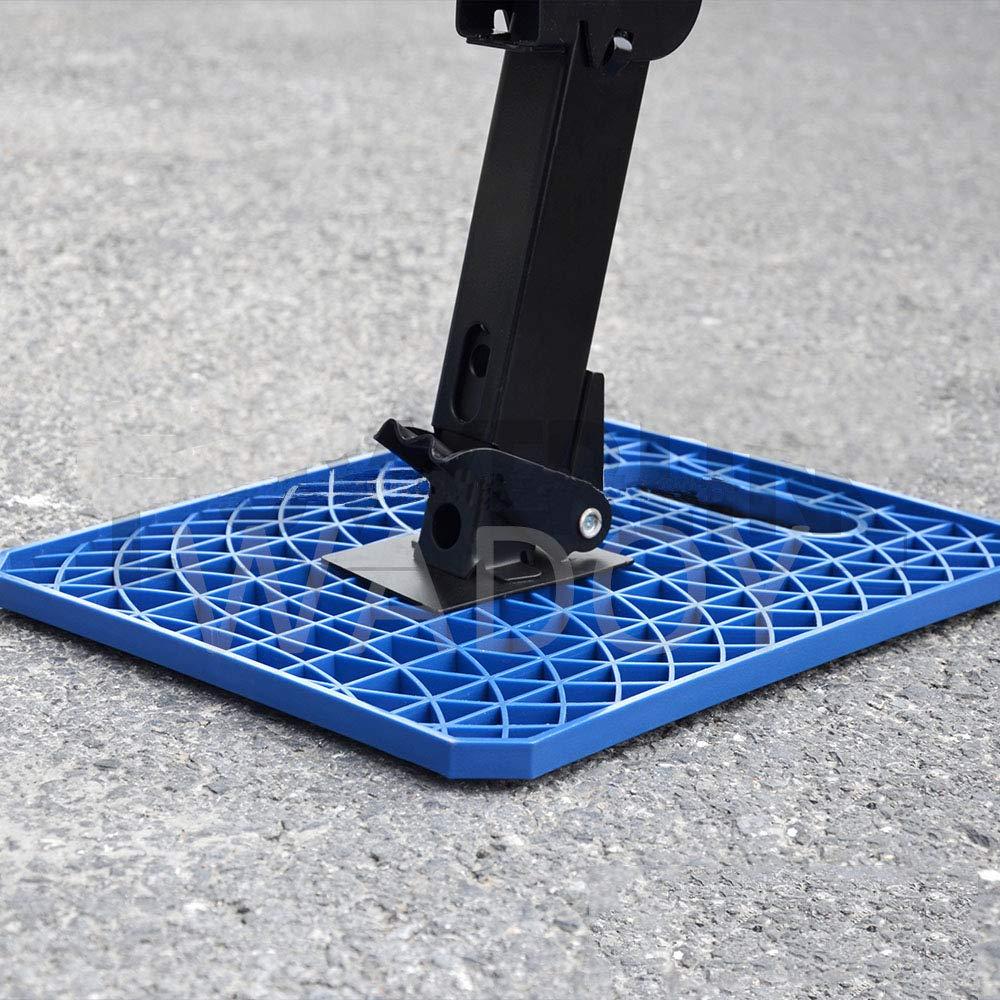 Wadoy Large RV Stabilizer Jack Pads, Camper Leveling Blocks for