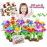 HAPISIMI Flower Garden Building Set 3-6 Year Old Girls Kids Best Birthday for Indoor and Outdoor Creativity Play 114 pcs…