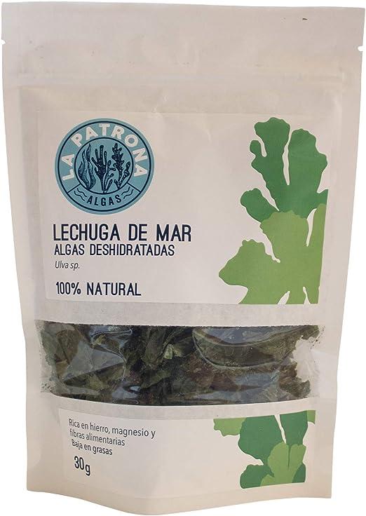 Alga Lechuga Deshidratada 30G ECO - Recogida a mano - Galicia ...