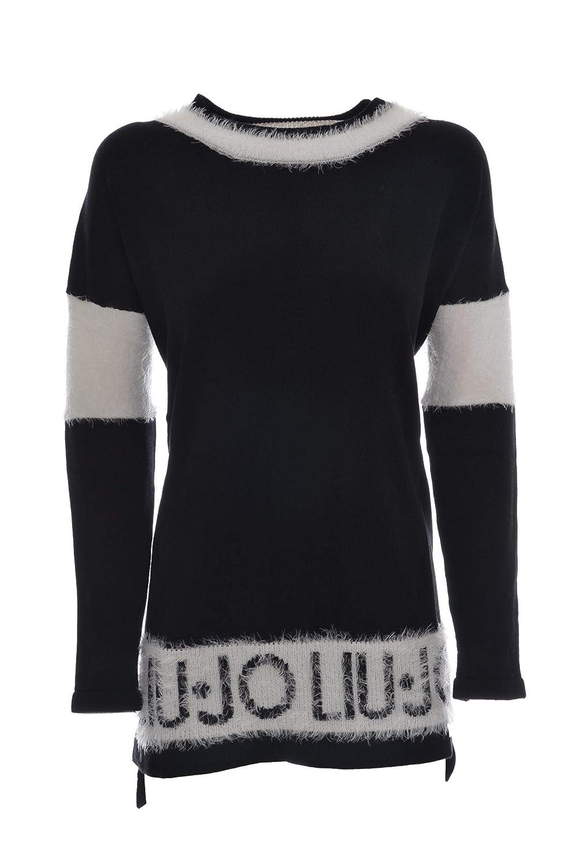Liu Jo Sport maglia chiusa donna con dettagli effetto pelliccia MainApps Liu.jo T68154 MAG34