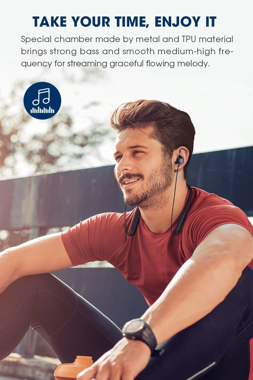 SoundPEATS Force Bluetooth Headphones Wireless Neckband Headset