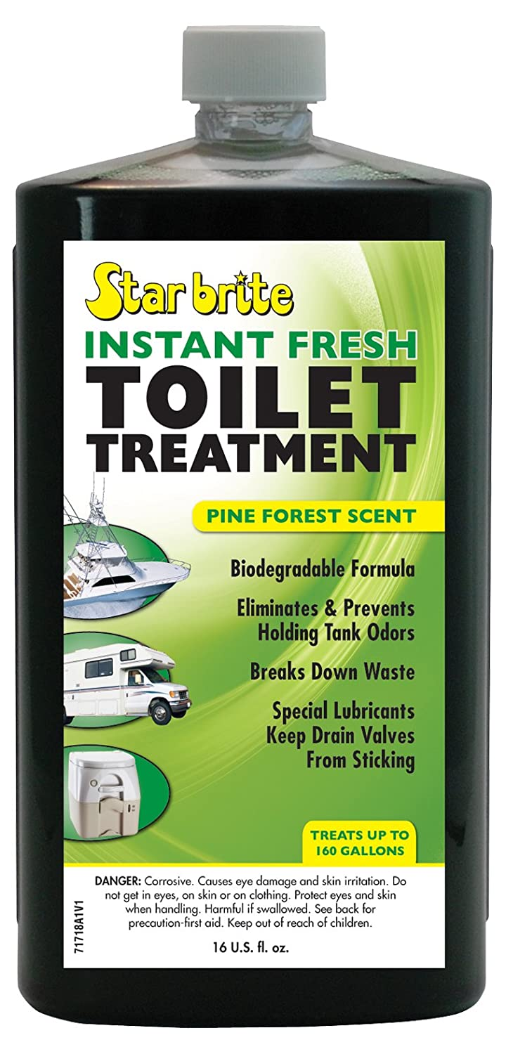 Star Brite Instant Fresh Toilet Treatment Concentrate - Eliminates & Prevents Holding Tank Odors - Biodegradable 071716