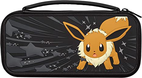 PDP - Funda Travel Case Eevee Escala De Gris (Nintendo Switch): Amazon.es: Videojuegos