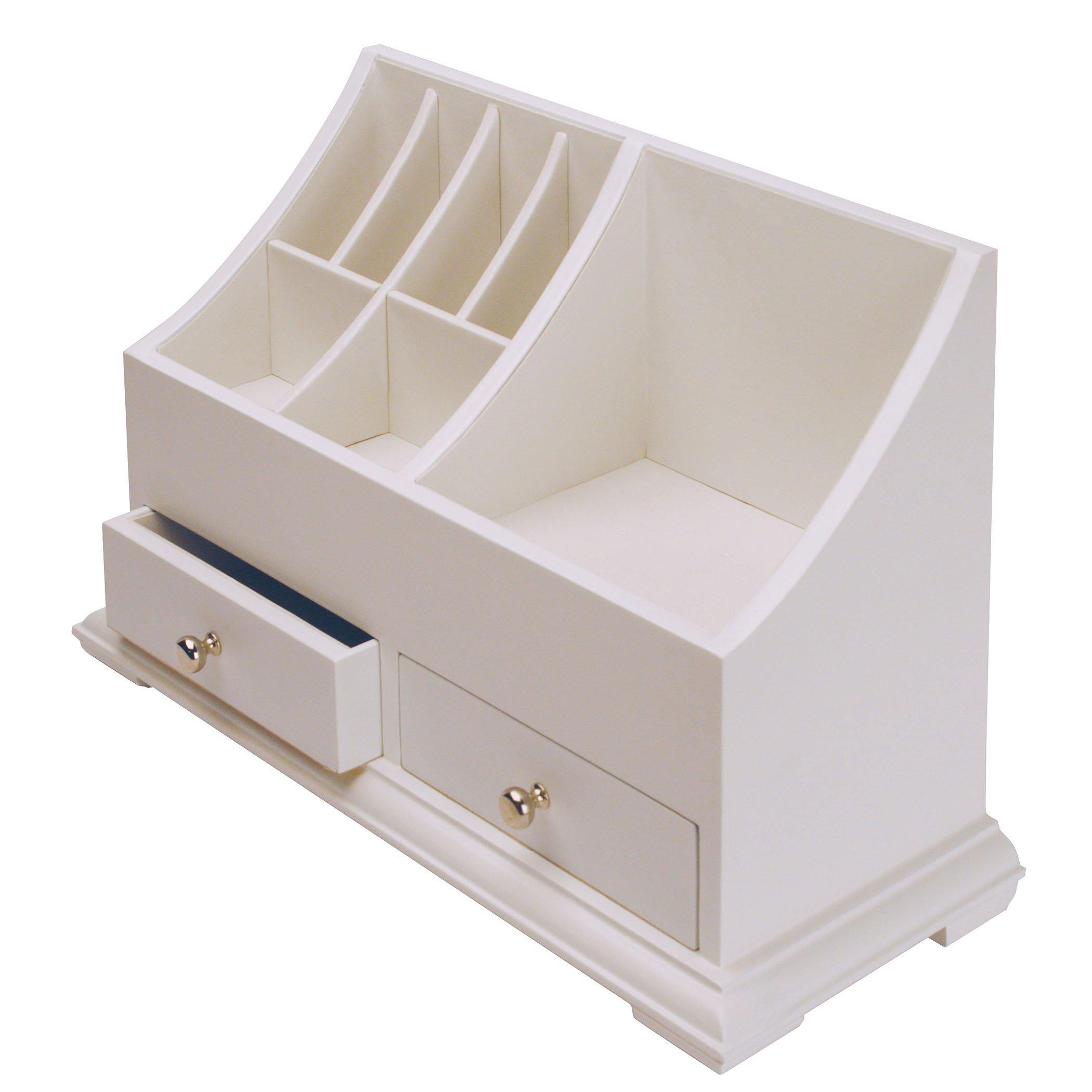 Richards Homewares Personal Organizer - White - 14'' x 6'' x 9''