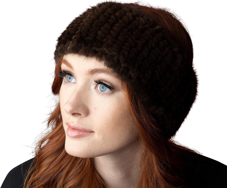 OBURLA Genuine Fur Headband...