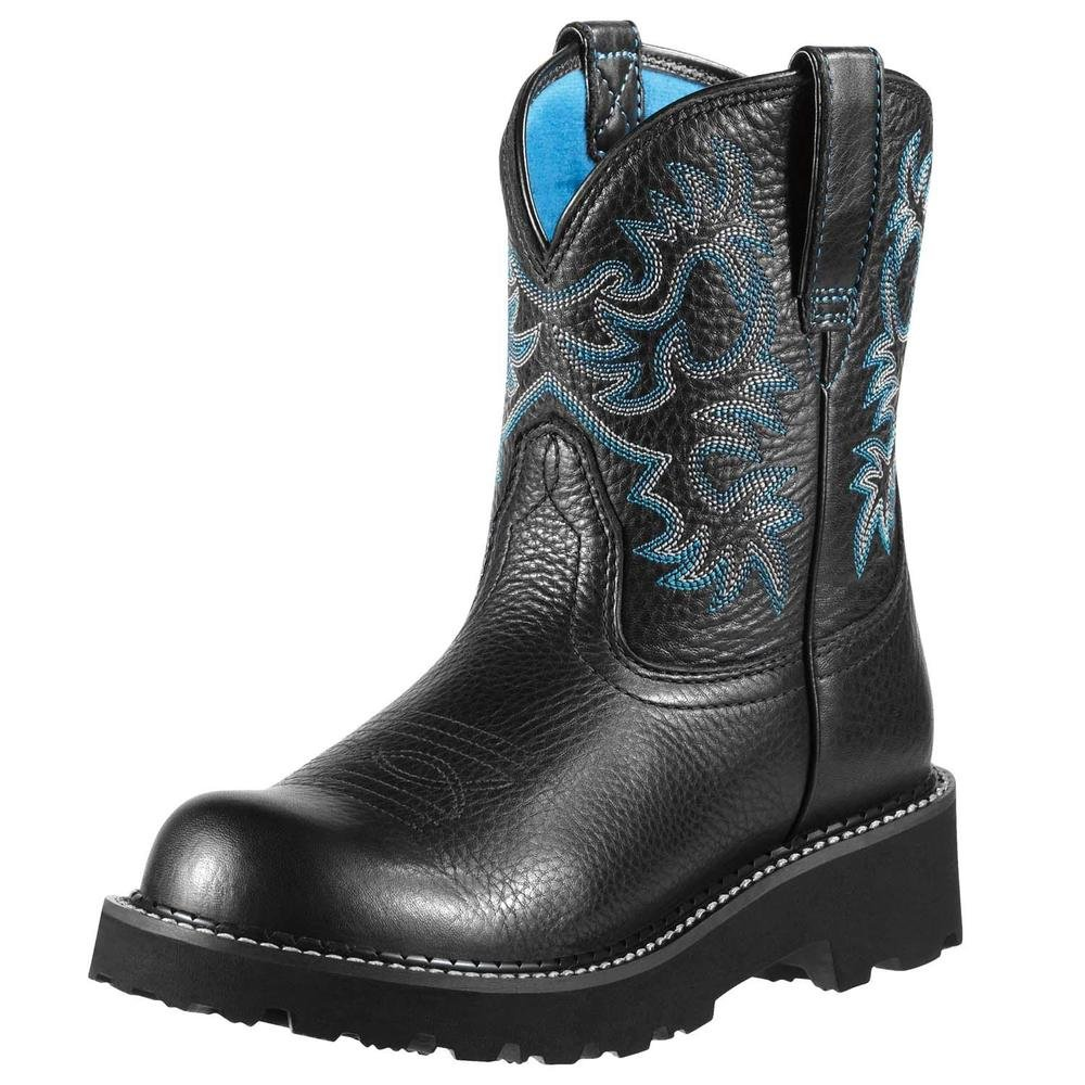 Black ARIAT Women's Fatbaby II Western Boot