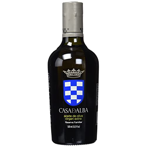 Casa de Alba Fine Food Aceite de Oliva Virgen Extra Reserva Familiar - 500 ml