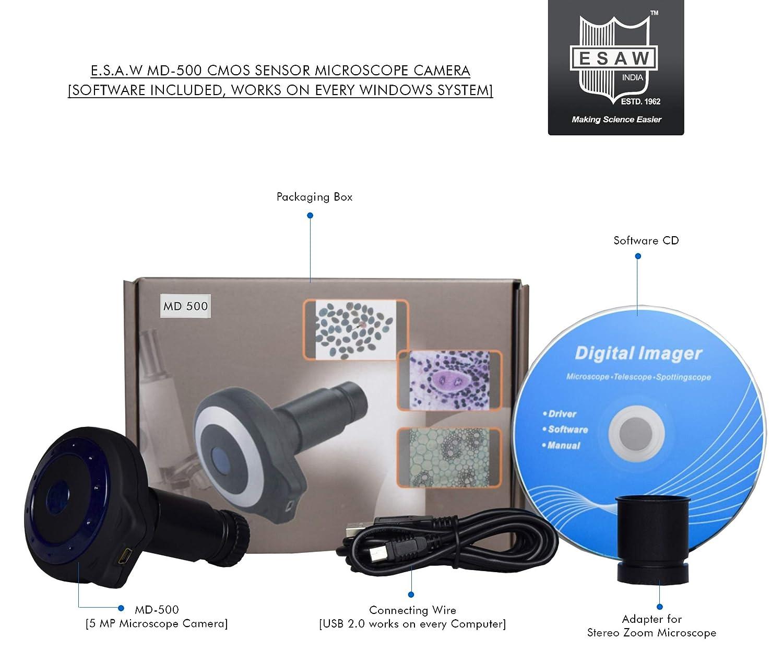 Esaw Microscope Camera 5 Mp