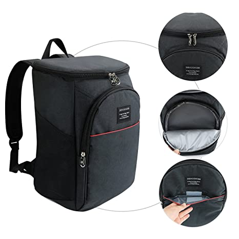4b97c8a4d31e Vakabva 28 Cans Insulated Backpack Portable Ice Cooler Backpack Coolers