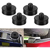 CPROSP 4 Pack Car Jack Lift Pad Adapter Tool Rubber Jack Pads Frame Protector for All Tesla Model 3