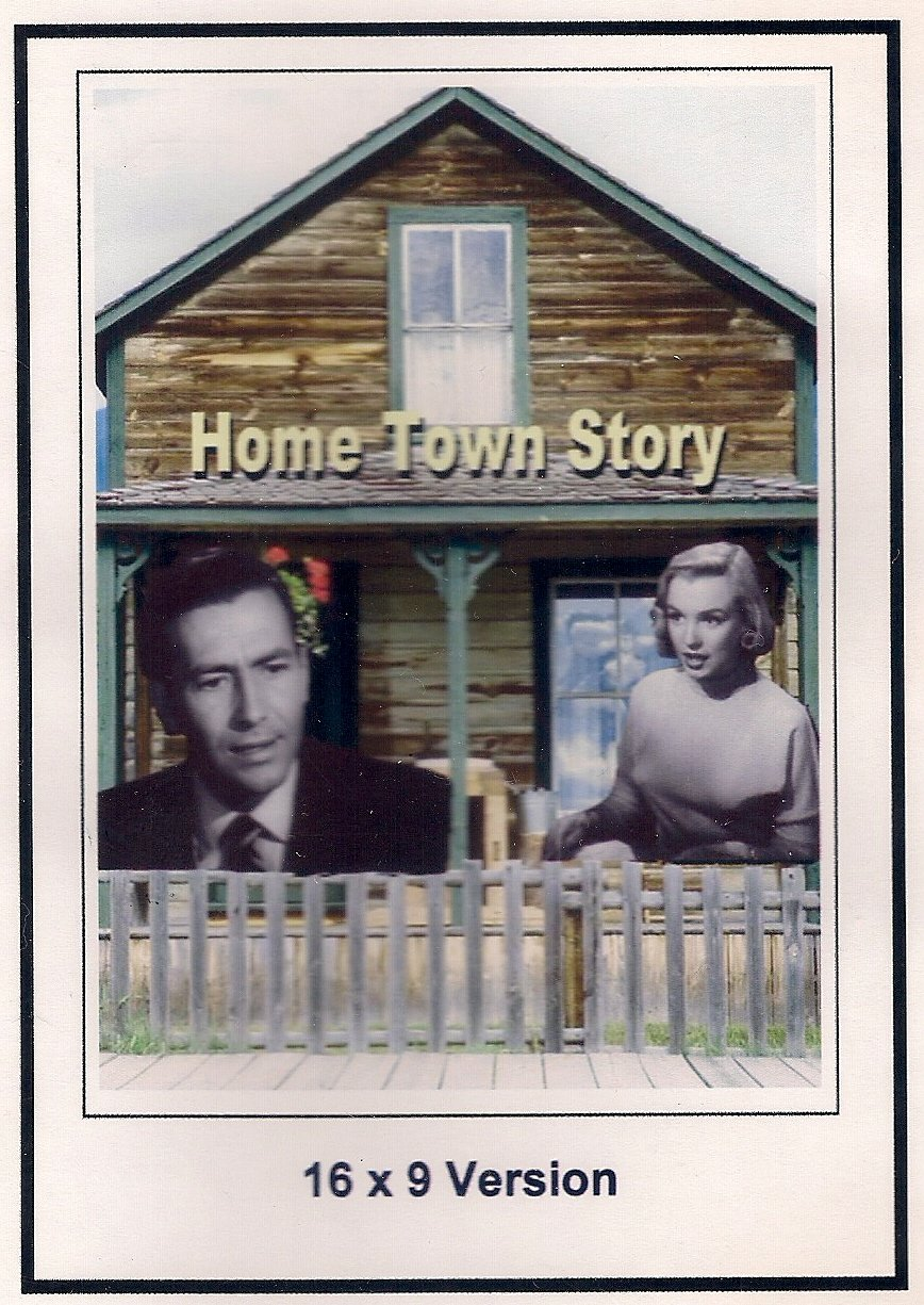 Home Town Story 16x9 Widescreen TV.