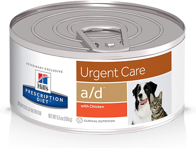 Hill's C-54500 Diet Canine y Feline A/D - Comida para gato y perro, 156 gr/unidad , 24 Unidades