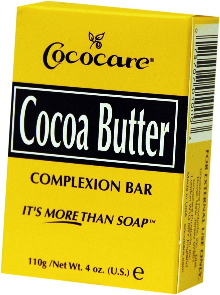 Cococare Cocoa Butter Soap 4 oz. (Pack of 2)