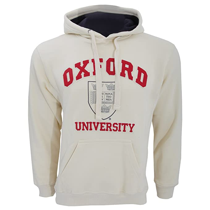 Oxford University- Sudadera con Capucha Unisex (4 Colores) (XL - 116cm-