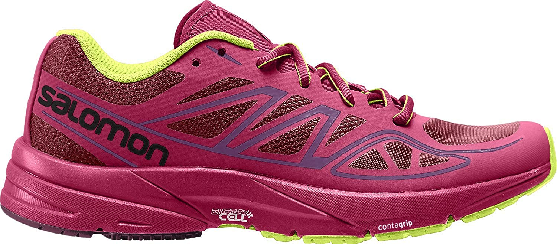 Salomon Sonic Aero W, Zapatillas de Trail Running para Mujer, Rojo ...