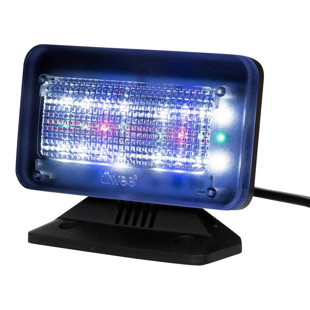 Home Security Falso TV a Colori Sensore di Luce e Timer Tiiwee TV Simulatore