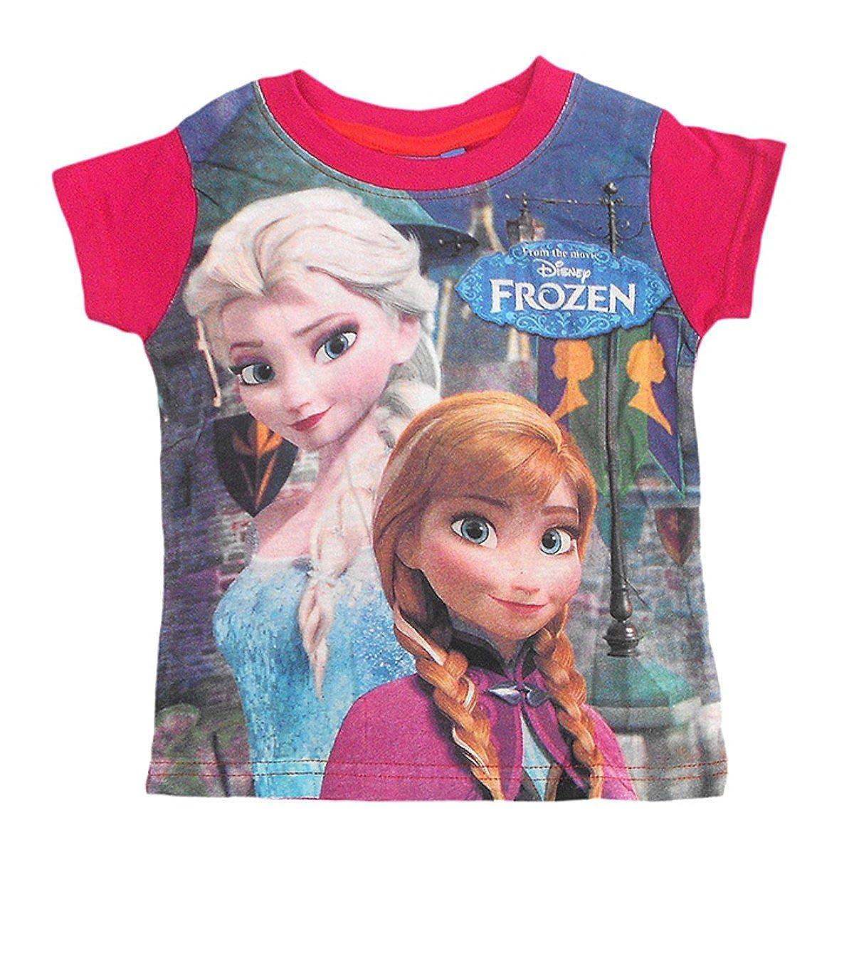 Disney Frozen Princess Girls Top Tshirt Age 5-6,7-8,9-10 Years