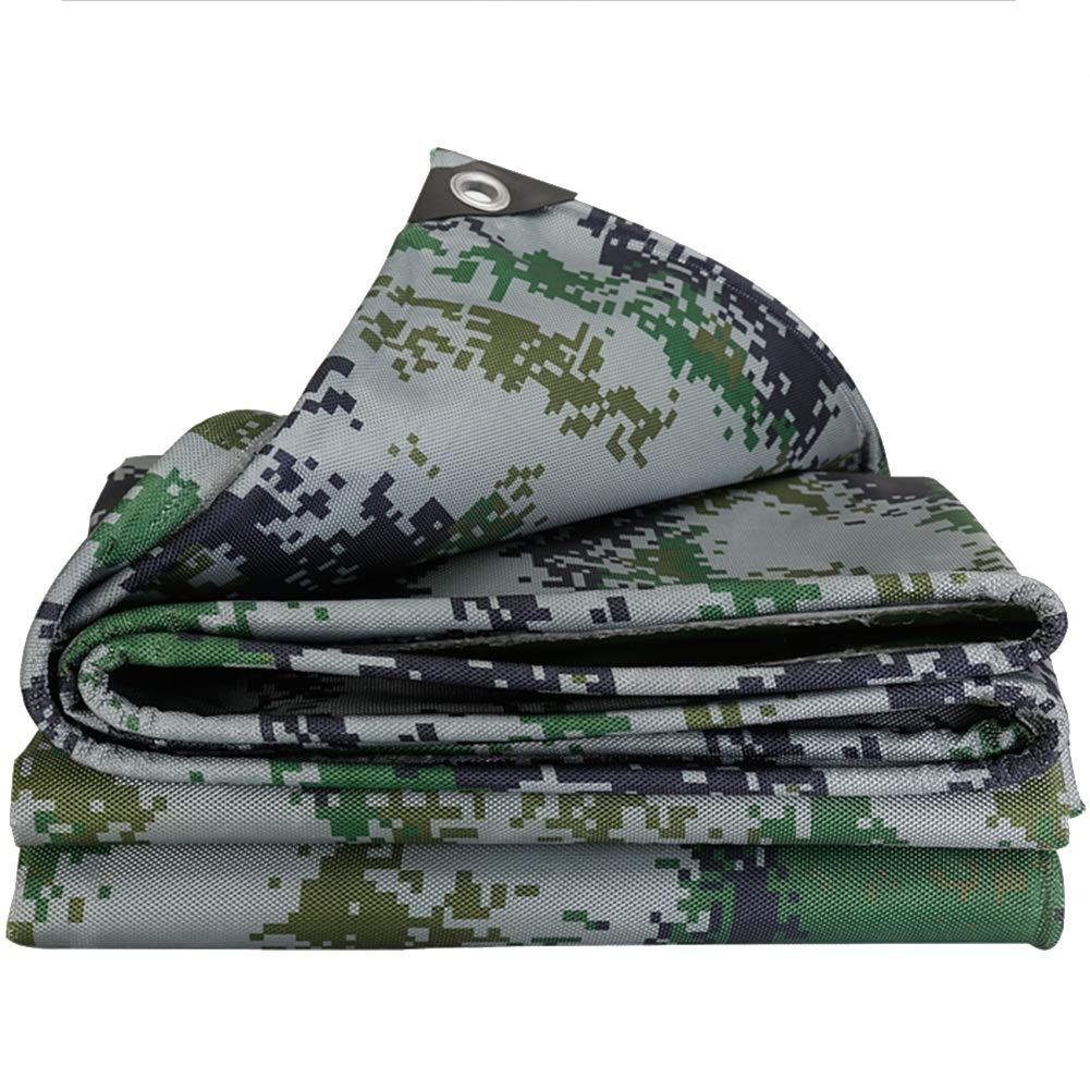 MSNDIAN Verdicken Sie Wasserdichte Camouflage-LKW-Plane-Regenstoffsonnenschutzvisier PVC-Oxford-Stoffsegeltuch Outdoor-Sportartikel