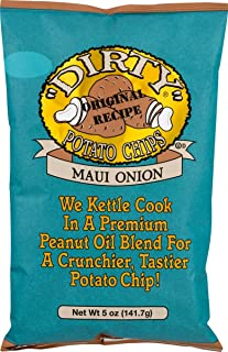 product image for Dirty Brand Potato Chips 5-oz Bags (Pack of 6) (Maui Onion)