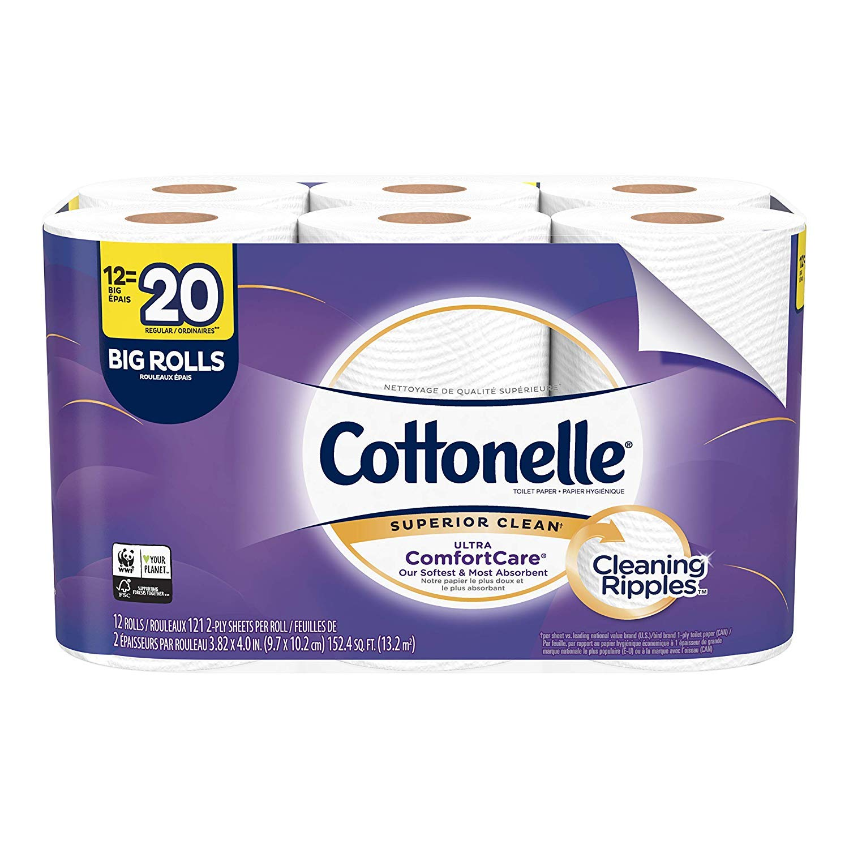 Cottonelle Ultra ComfortCare Papel higiénico, suave papel ...