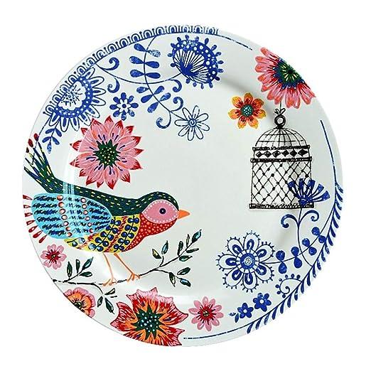 YUWANW Apenada Vintage | país francés vajilla de cerámica ...