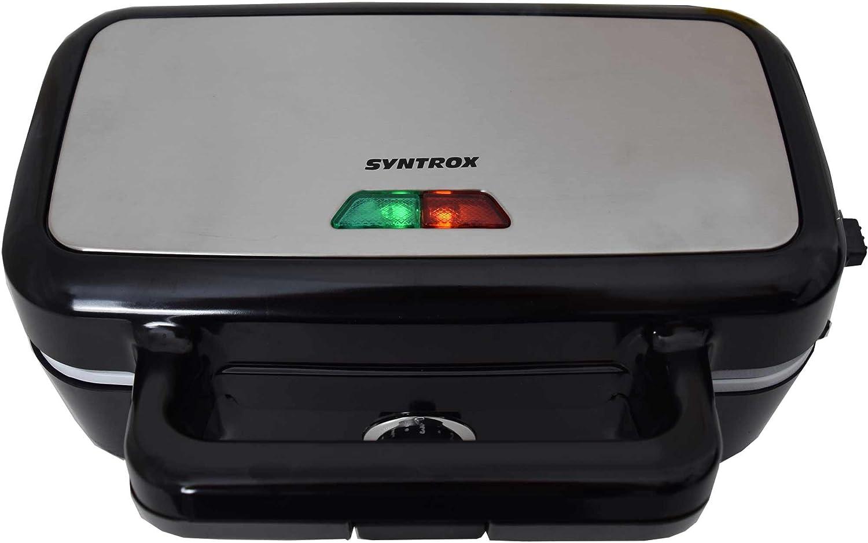 Syntrox SM-2200W 3in1 Sandwichmaker Waffelmaker Kontaktgrill B-Ware