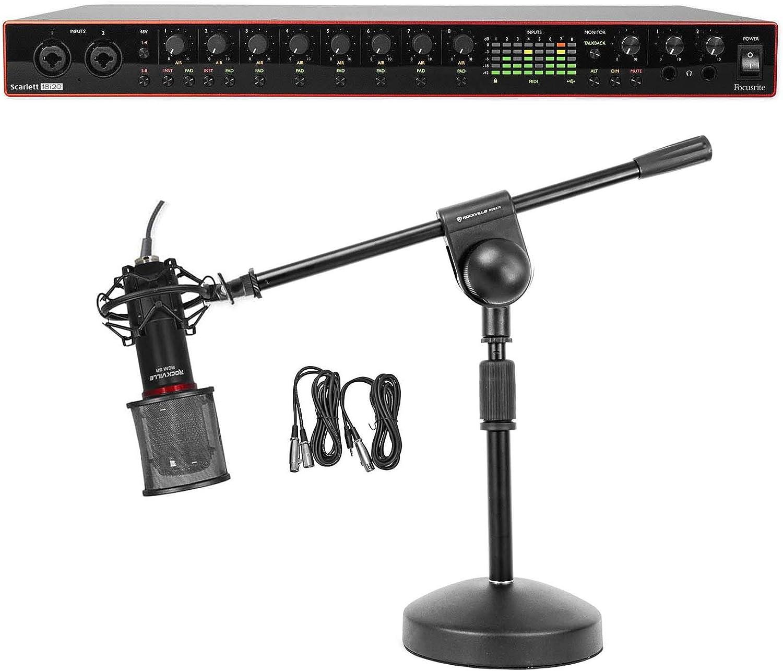 Stand Focusrite SCARLETT 2I4 2nd Gen 192kHz USB Audio Recording Interface