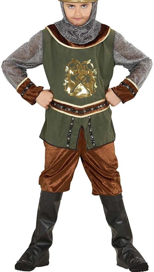 Trousers Viking Costume Kids Boys Top Hat Historical Saxon Nordic Fancy Dress