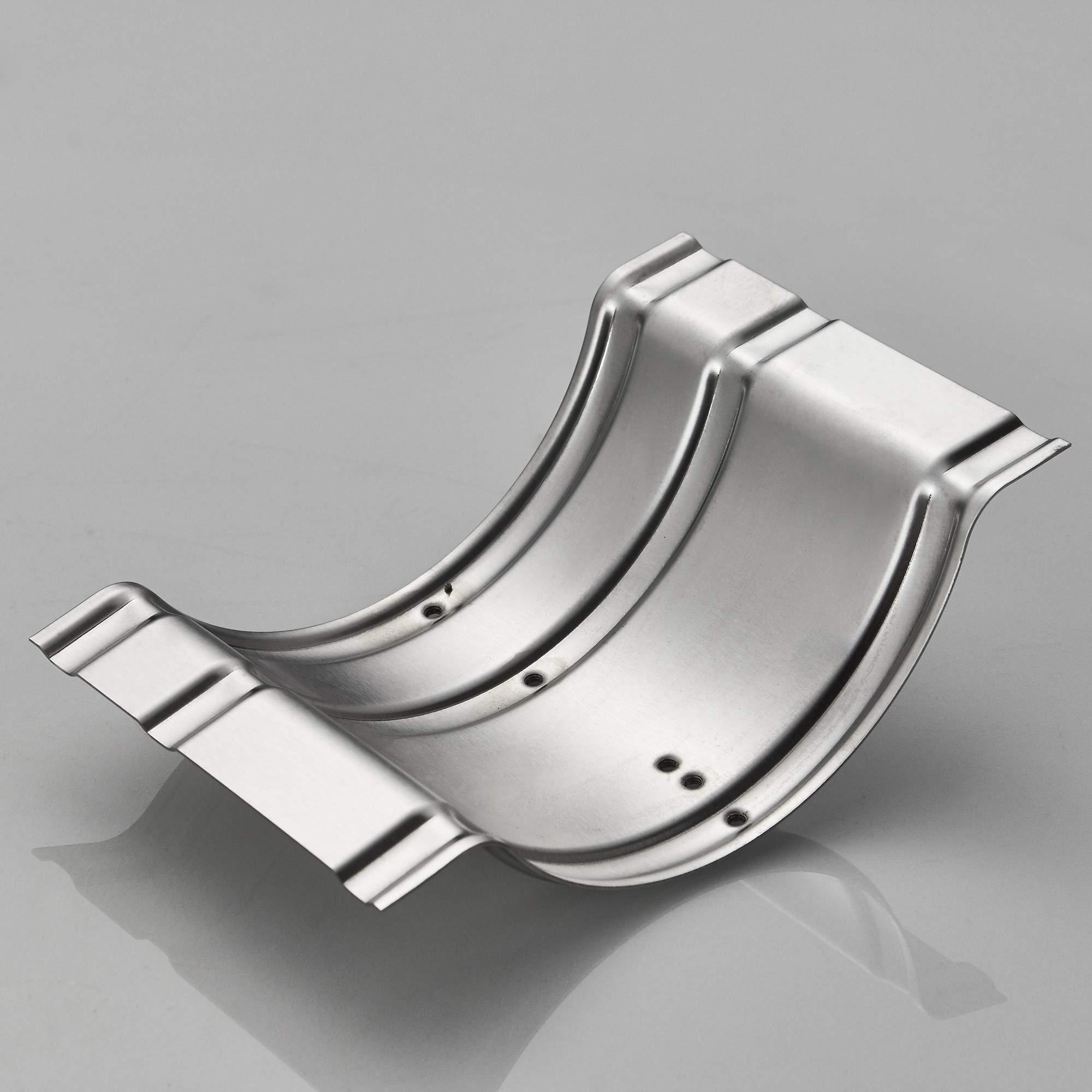 JunSun Brushed Nickel Recessed Toilet Paper Holder Wall Toilet Paper Holder Recessed Toilet Tissue Holder Stainless Steel Toilet Paper Holder Rear Mounting Bracket Included by JunSun (Image #8)