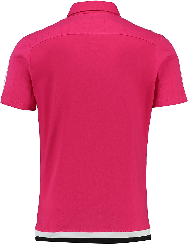 adidas Juve TRG Polo - Camiseta para Hombre, Color Fucsia/Blanco ...