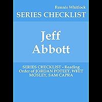 Jeff Abbott - SERIES CHECKLIST - Reading Order of JORDAN POTEET, WHIT MOSLEY, SAM CAPRA (English Edition)