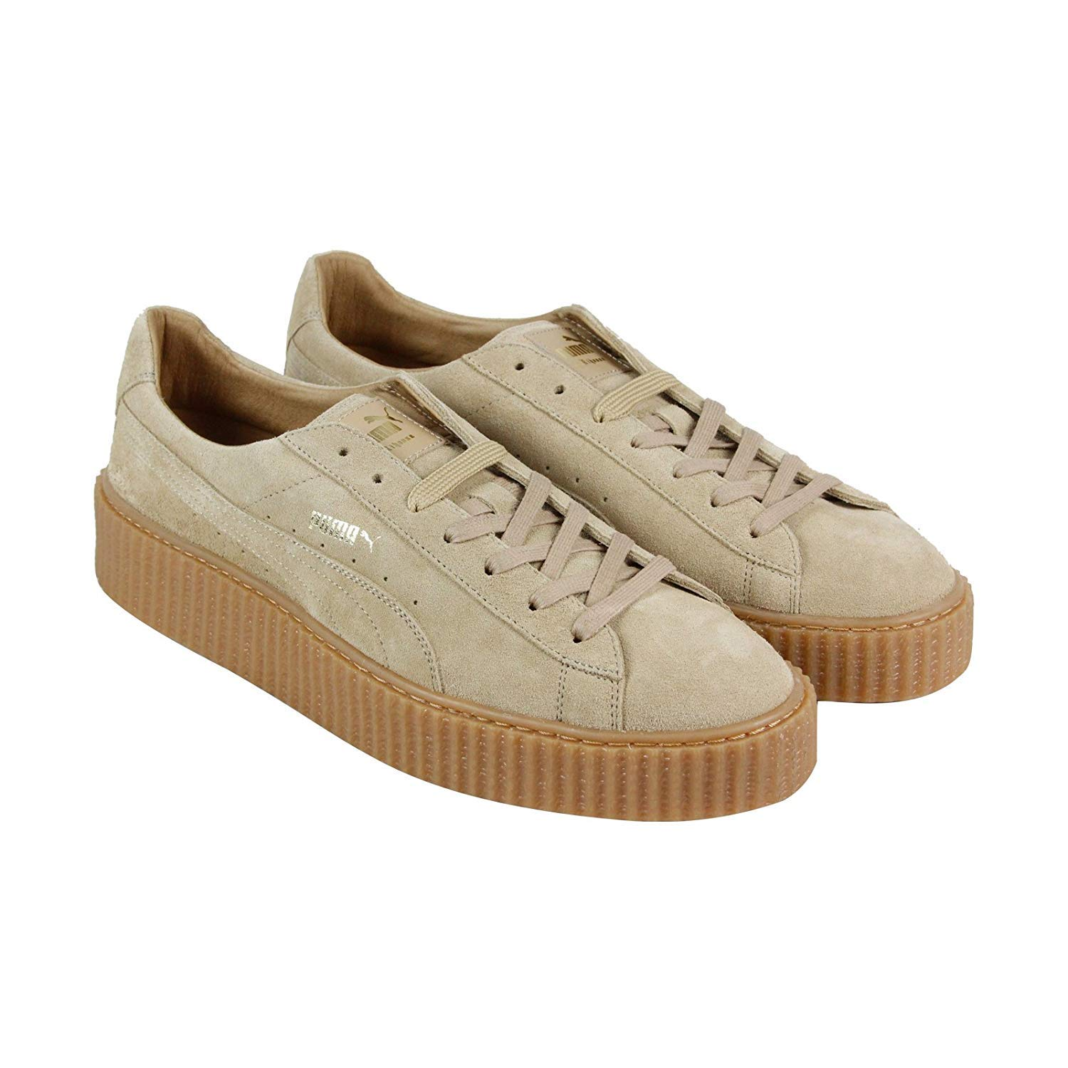 best website 0849f 4791e Puma Mens Fenty by Rihanna Tan Suede Creepers 36217804 ...