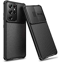 CE-Link Funda para Samsung Galaxy S21 Ultra Protección de la Cámara Rígida PC Delgado Ligera Resistente Impactos Carcasa…