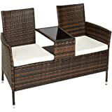 gartenbank malm mit tisch parkbank sitzbank 3 sitzer bank holzbank akazie. Black Bedroom Furniture Sets. Home Design Ideas