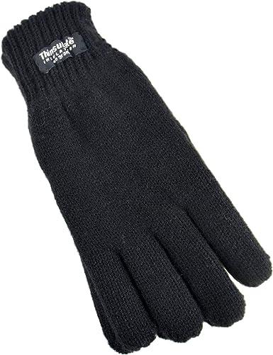 Childrens Kids Boys Girls Winter Thermal Lined Fleece Gloves