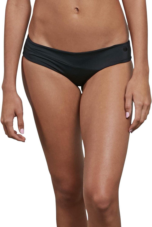 Volcom Women's cheap Simply Seamless Bombing free shipping Bottom Modest Bikini