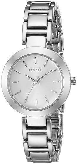 DKNY NY8831 - Reloj de pulsera Mujer, acero inoxidable, color Plata